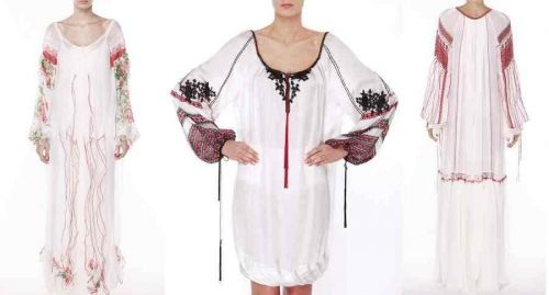 Valentina Vidrascu Romanian traditional dresses collection