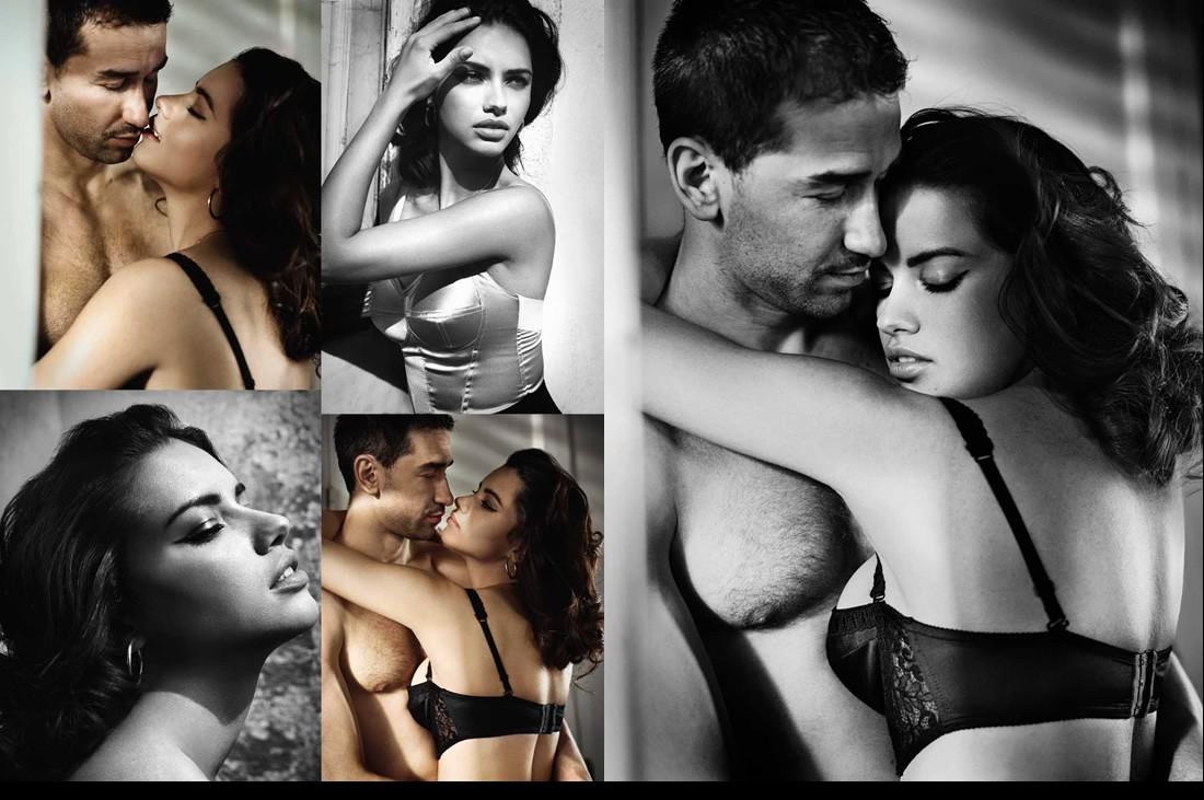 Adriana Lima - lingerie - Vogue