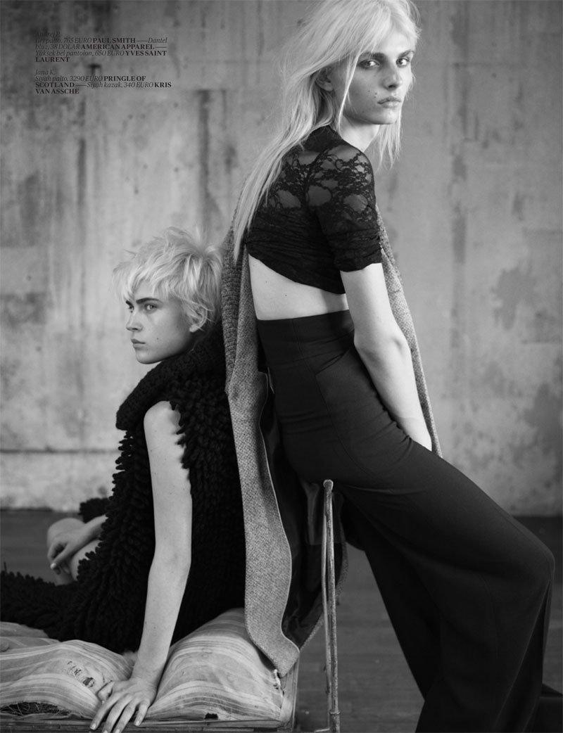 Andrej Pejic in Vogue Turkey