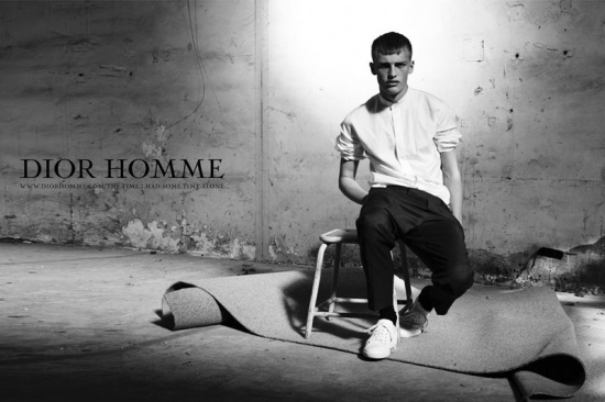 Dior Homme ad campaign by Willy Vanderperre