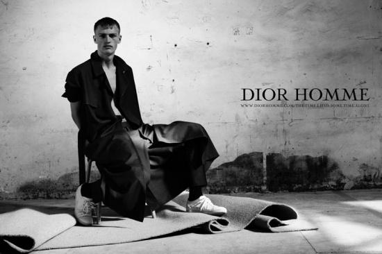 Dior Homme spring 2011 ad starring Victor Nylander