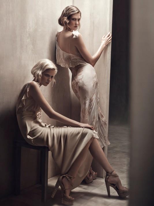 Donna Karan spring-summer 2011 ad campaign