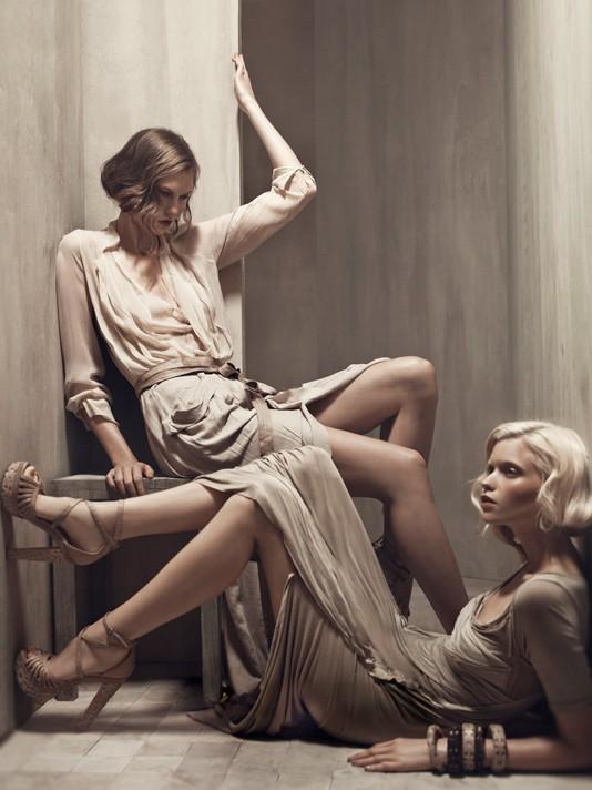 Donna Karan ad campaign, spring-summer 2011