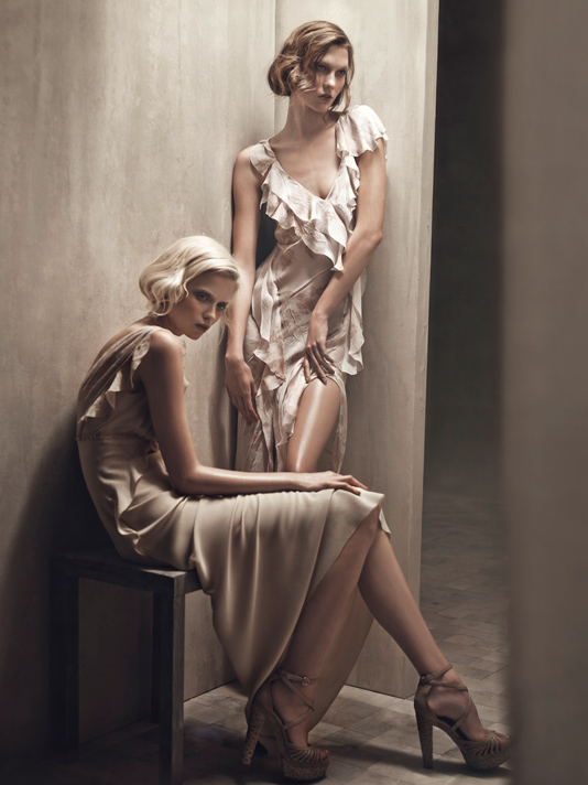 Donna Karan ss2011 ad campaign by Patrick Demarchelier