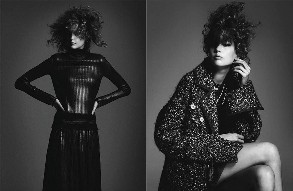 Elisabeth Erm for Vogue Ukraine Magazine