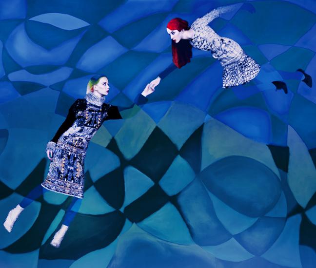 Erik Madigan Heck for Mary Katrantzou, The Surrealist Ideal