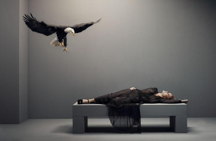 Anouk portrait by Erwin Olaf, Vogue Netherlands, april 2013