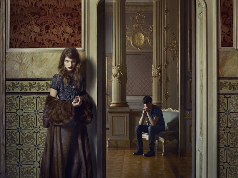 Caterina Ravaglia by Erwin Olaf, Grey mag, spring 2013