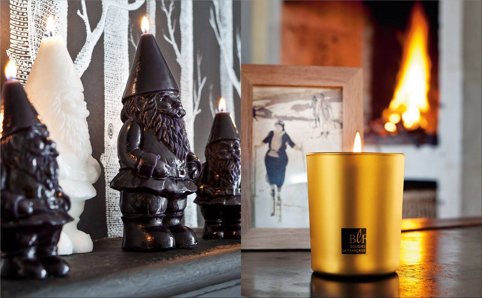 French Candles for Christmas