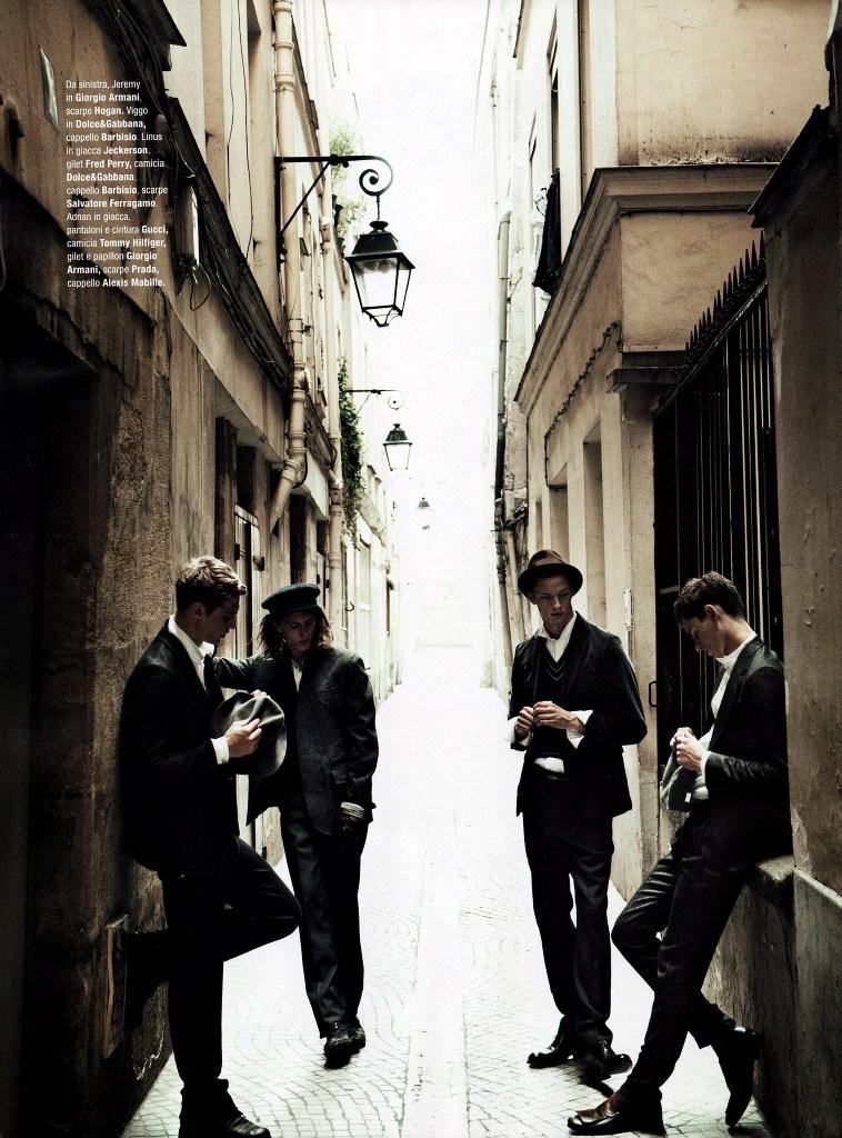GQ Italy - Garçons Terribles - Matthew Brookes - 01