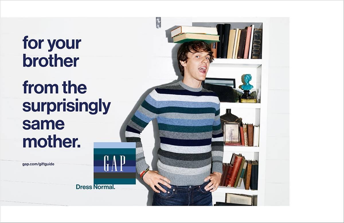 Gap print ads