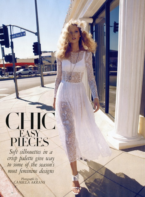 Chic easy pieces - Harper's Bazaar US
