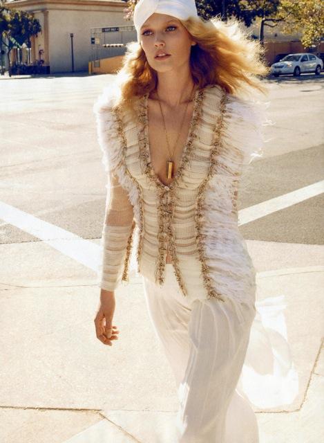 fashion editorial Harper's Bazaar US april 2011
