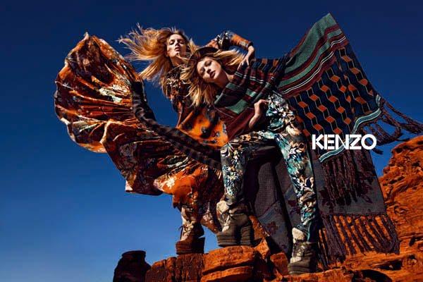 Kenzo fw 2010/2011 ad campaign