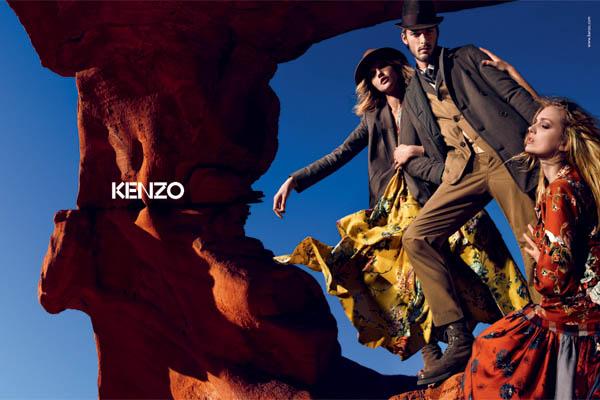 Kenzo ad campaign fall 2010