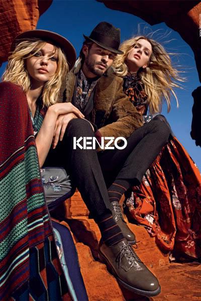 Kenzo fw 2010/2011 ad