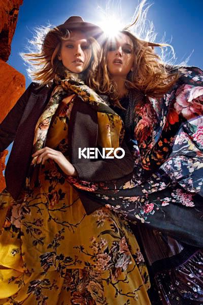 Kenzo fall 2010 ad campaign