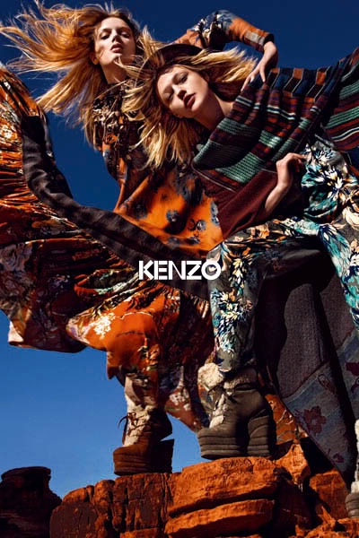 Kenzo fall 2010/winter 2011 ad campaign