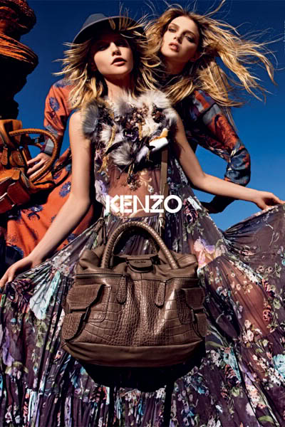 Kenzo fall 2010/winter 2011 advert