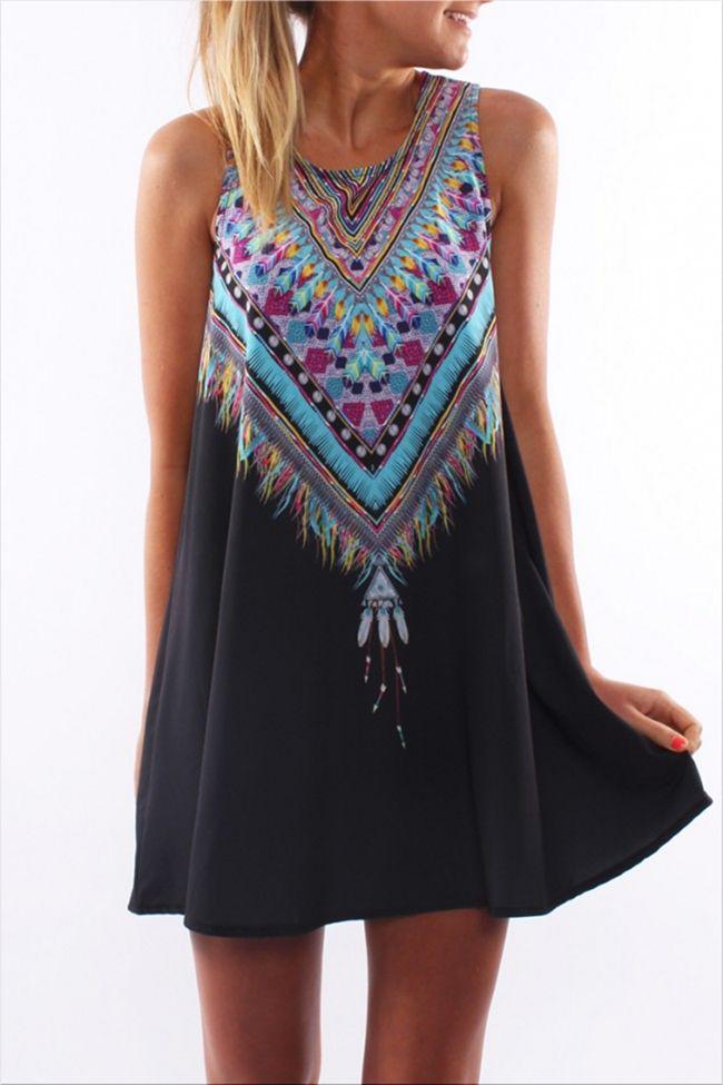 Lakota Black Dress