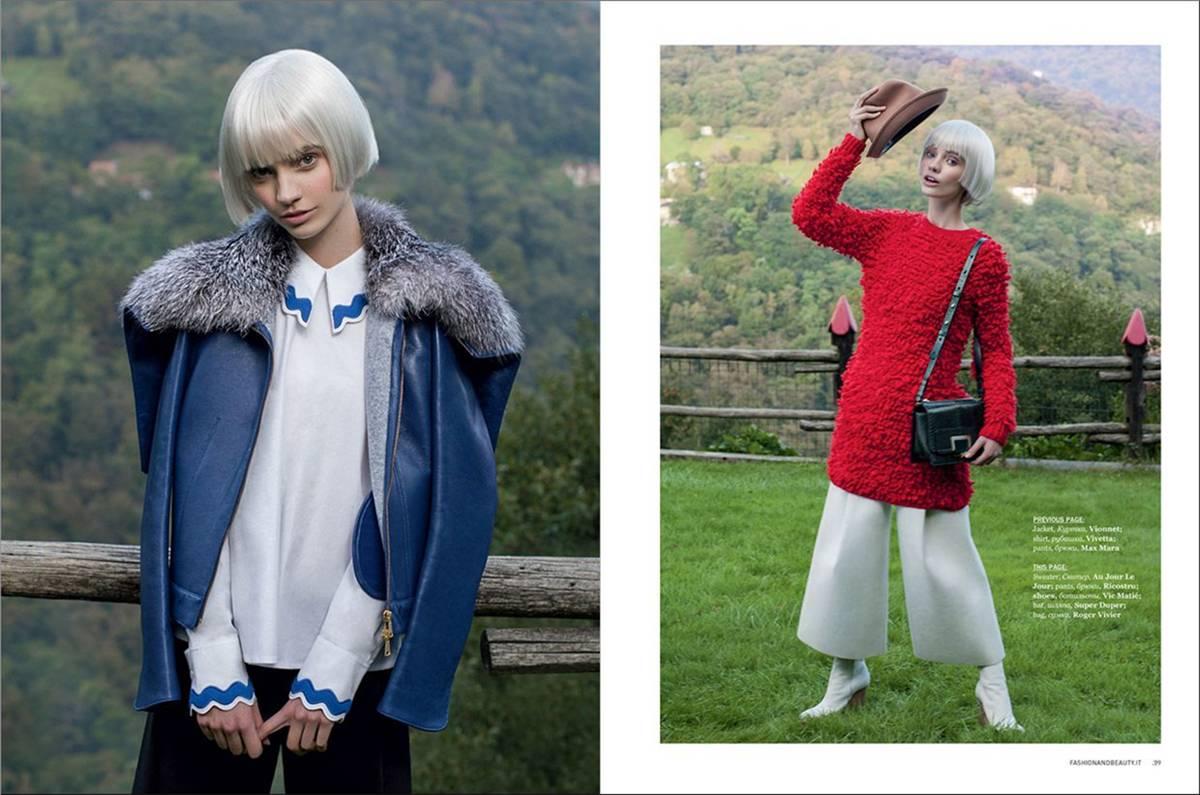 Luiza Scandelari for Fashion & Beauty Magazine