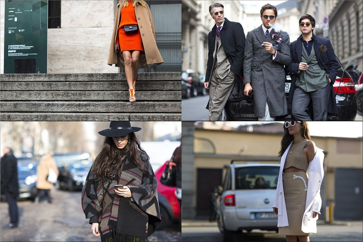 Milan Fashion Week - street looks