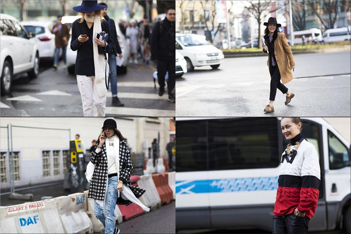 Milan Fashion Week - street looks