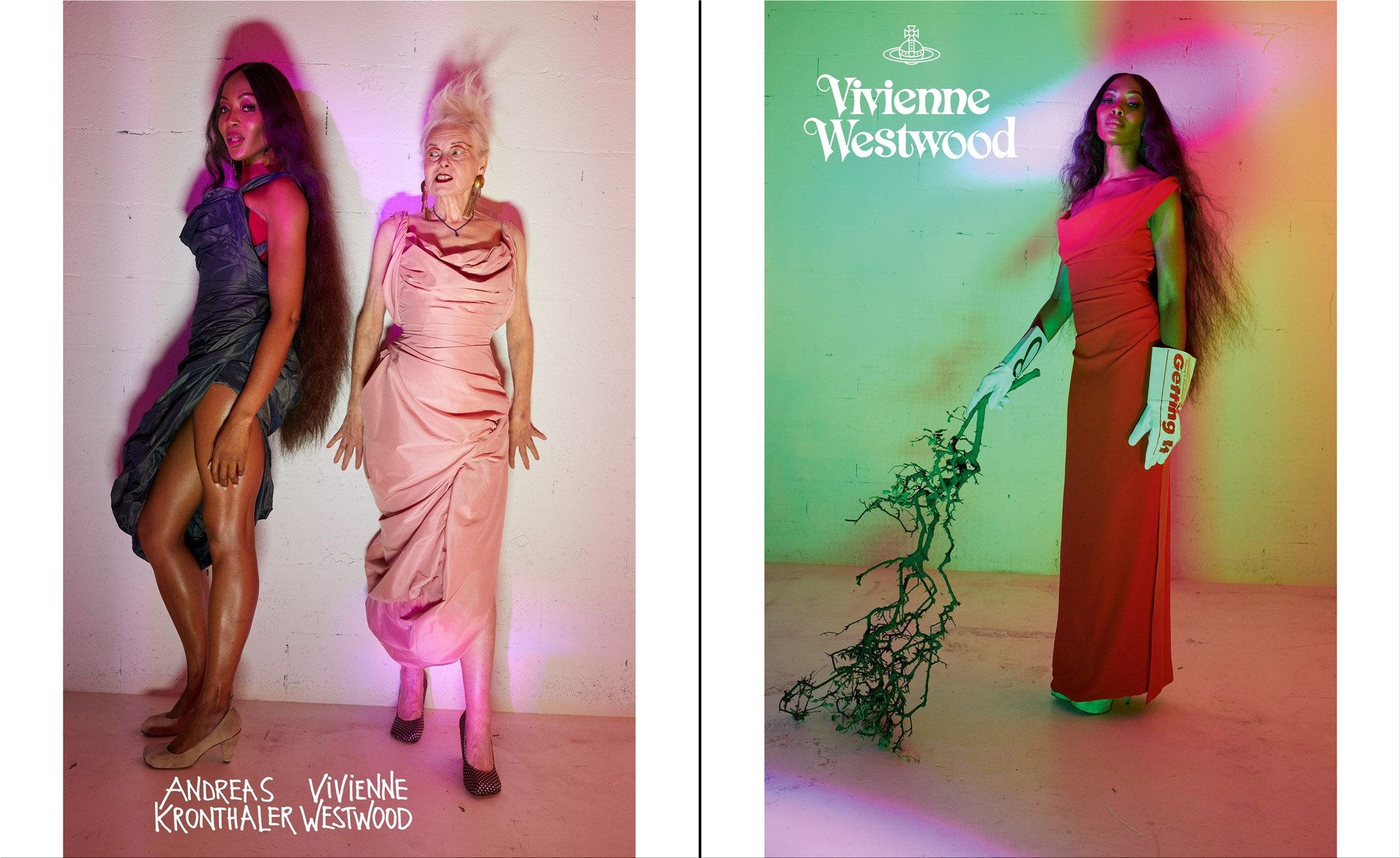Naomi Campbell for Vivienne Westwood