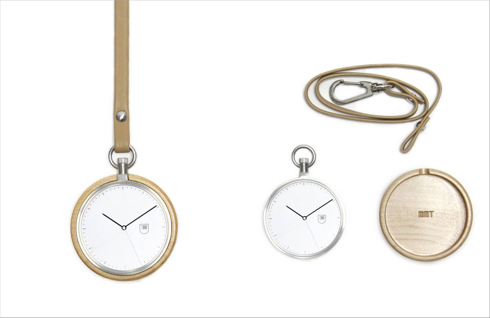 Pocket Watch - Calendar Maple