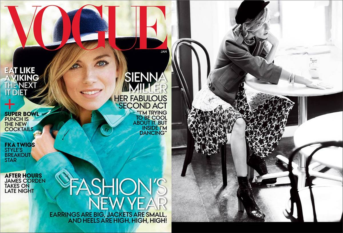 Sienna Miller - Vogue