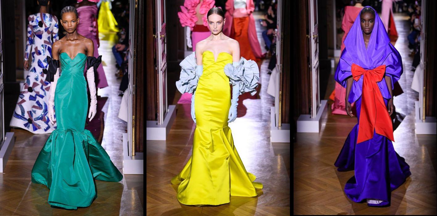 Valentino Spring/Summer 2020 collection at Paris Fashion Week