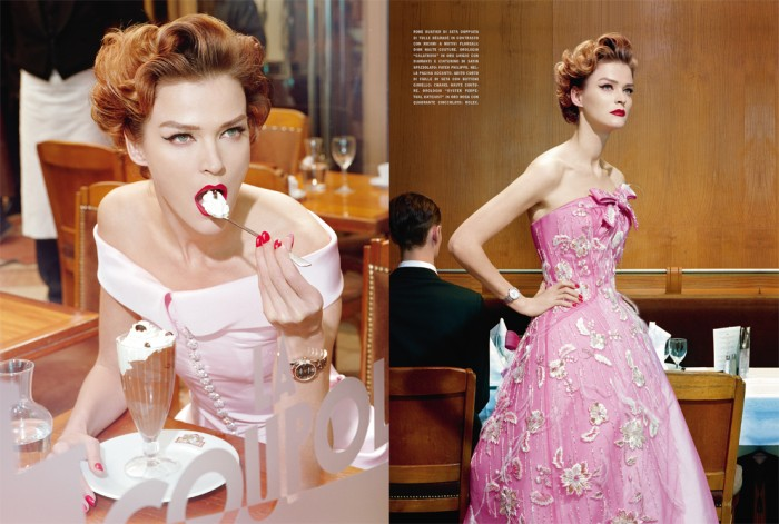by Miles Aldridge, Vogue Italia