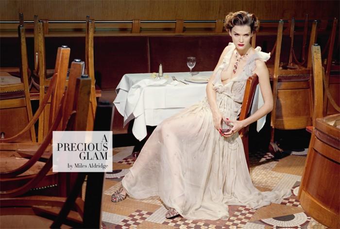 A precious glam - Vogue Italia