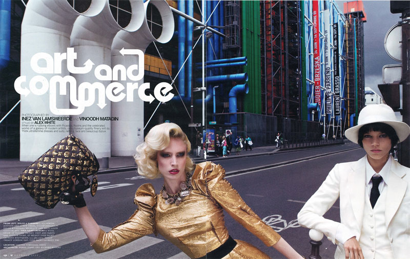 W magazine oct 2009 Art&Commerce