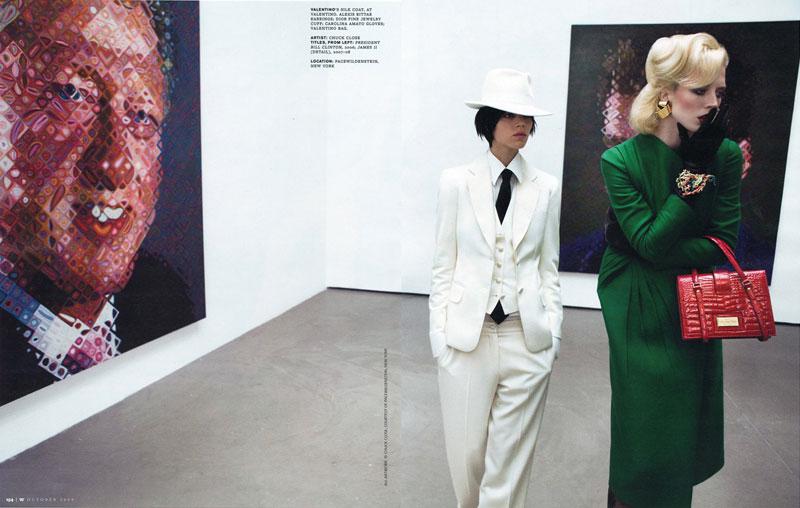 W magazine - Raquel&Freja by Inez&Vinoodh