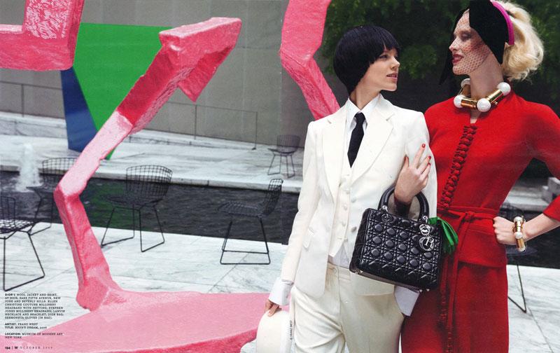 Raquel&Freja in Art&Commerce - W mag