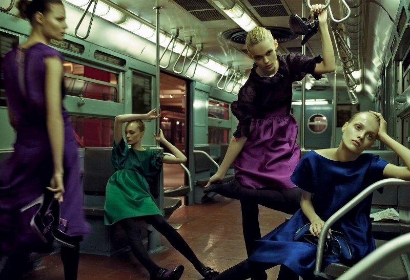 Alberta Ferretti F/W 08/09 campaign