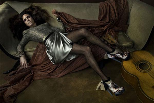 Jennifer Connelly - Balenciaga fall 2009 ad