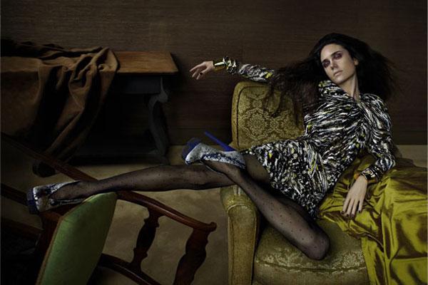 Jennifer Connelly - Balenciaga ad campaign