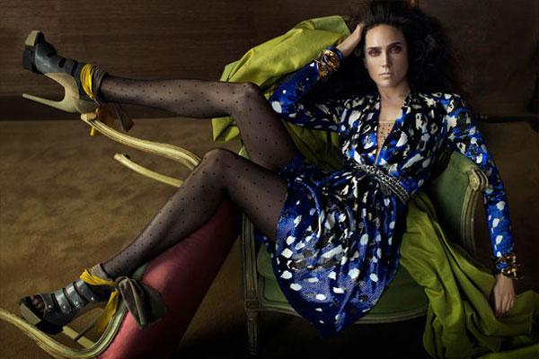 Jennifer Connelly - Balenciaga fashion ad