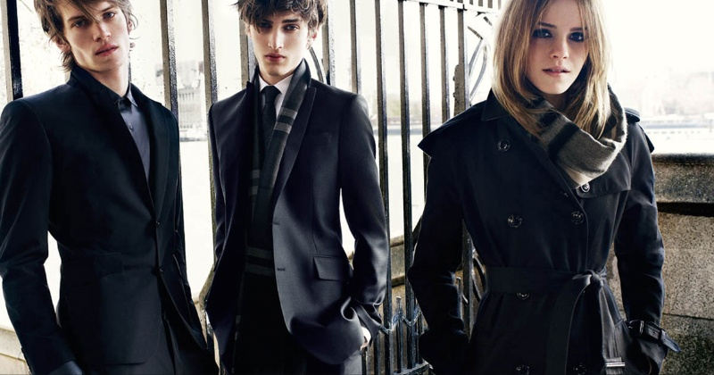 Burberry fall-winter 2009/2010 ad campaign -05
