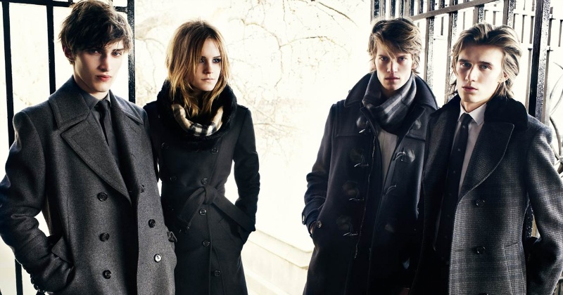 Burberry fall-winter 2009/2010 ad campaign -08