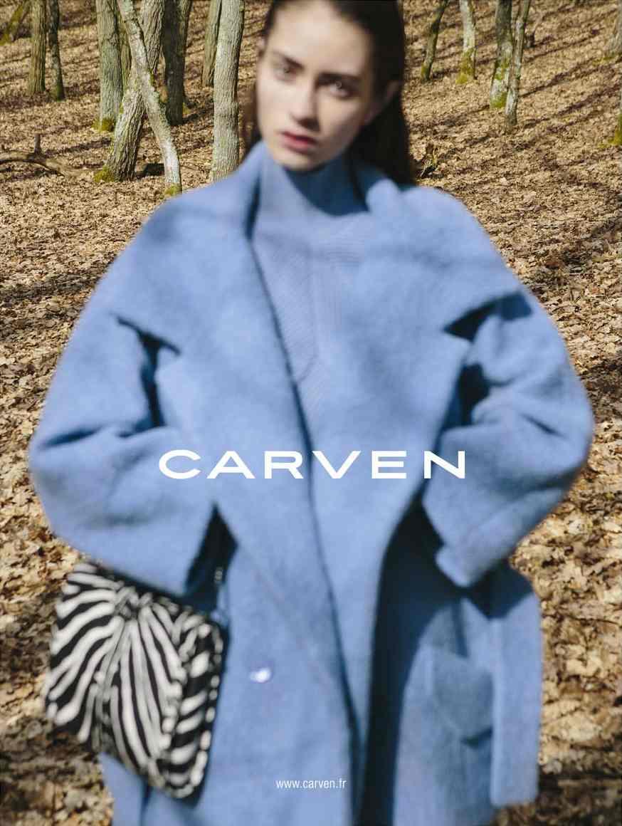 Marine Deleeuw by Viviane Sassen for Carven fw 2013