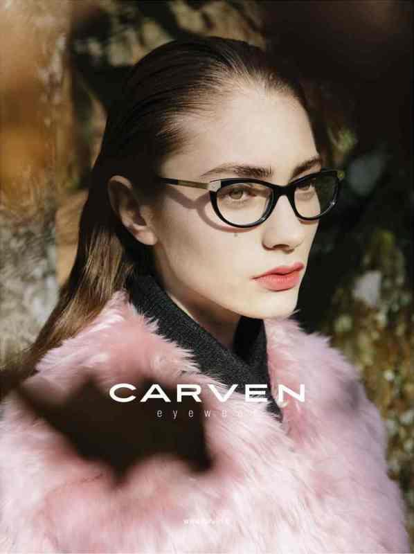 Carven fw2013 eyewear, Marine Deleeuw
