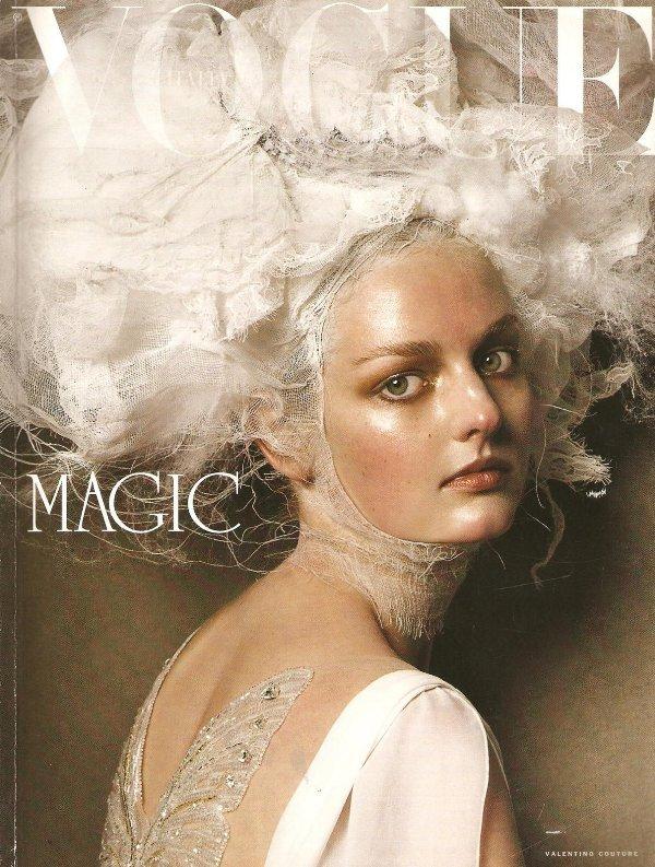 Vogue Italia march 2005