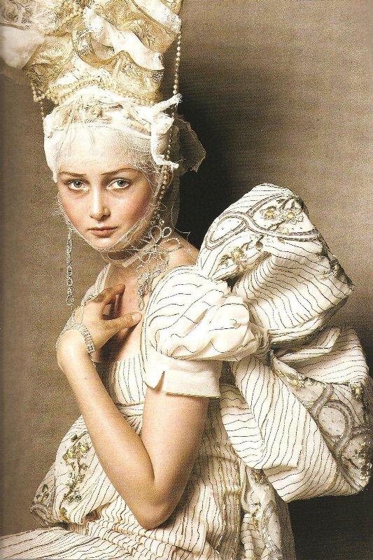 Vogue Italia Steven Meisel Couture - 13