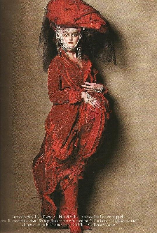 Vogue Italia Steven Meisel Couture - 01