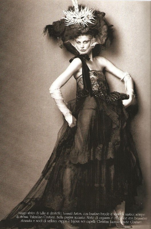 Vogue Italia Steven Meisel Couture - 08