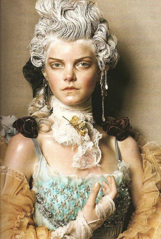 Vogue Italia Steven Meisel Couture - 07