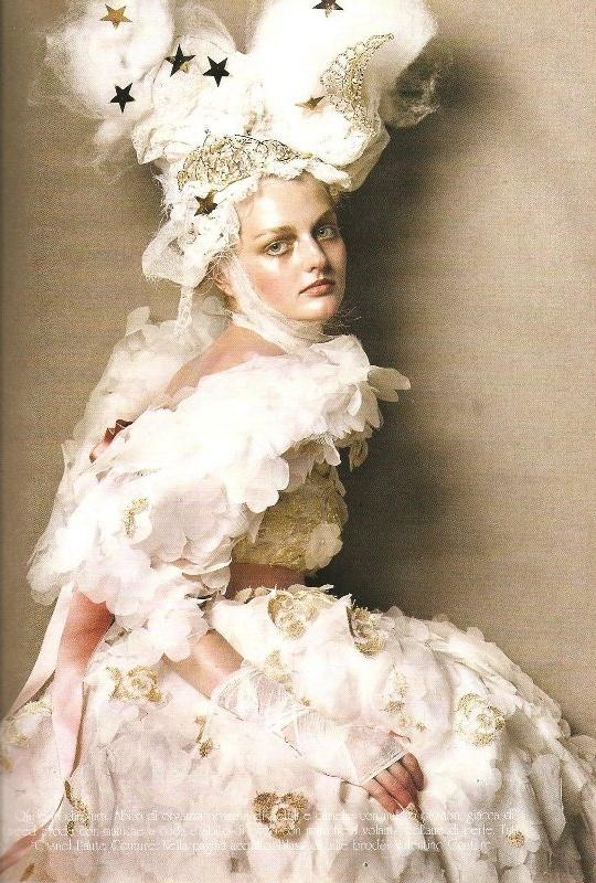Vogue Italia Steven Meisel Couture - 03